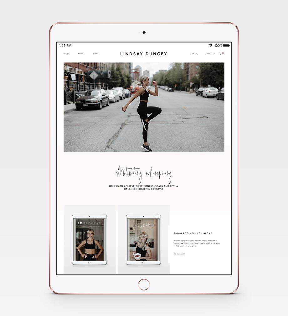 Lindsay Dungey Website