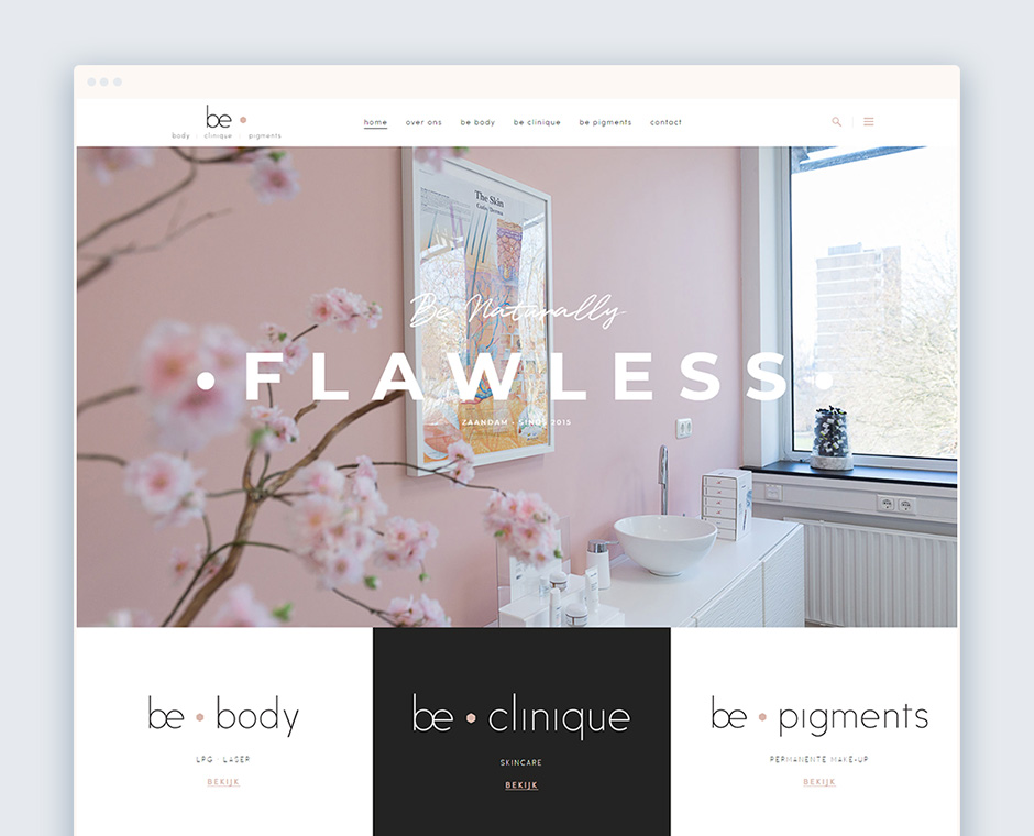 Be Clinique Homepage