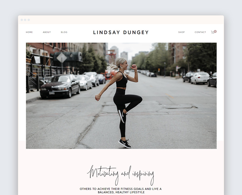 Lindsay Dungey Fitness Homepage